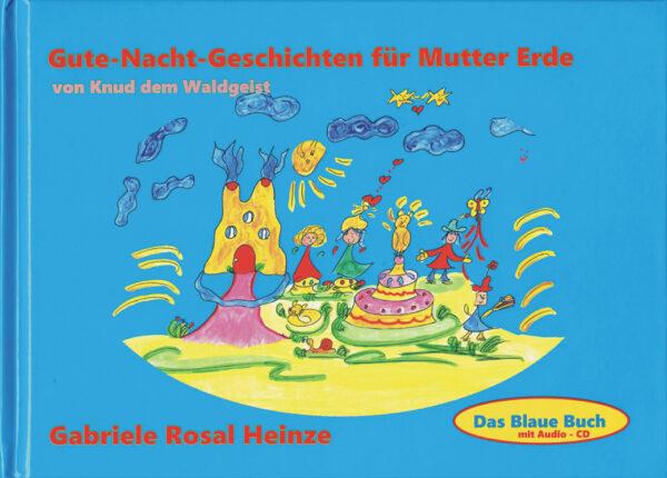 Cover - Das Blaue Buch - Gute Nacht Geschichten für Mutter Erde von Knud dem Waldgeist