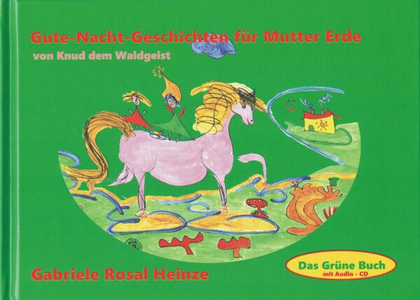 Cover - Das Grüne Buch - Gute Nacht Geschichten für Mutter Erde von Knud dem Waldgeist