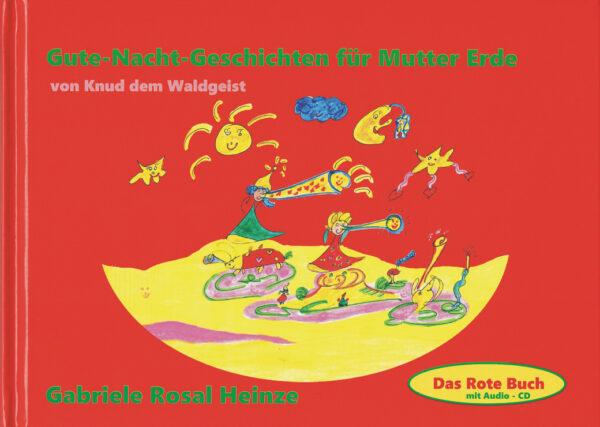 Cover - Das Rote Buch - Gute Nacht Geschichten für Mutter Erde von Knud dem Waldgeist
